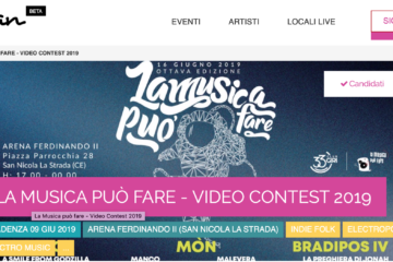 musplan la musica può fare video contest 2019